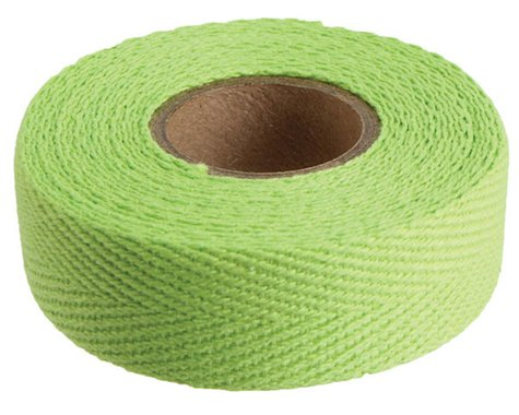 Newbaum's Cotton Cloth Handlebar Tape (Lime Green) (1)