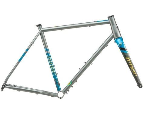 Niner 2021 RLT 9 Steel Frameset (Forge Grey/Baja Blue) (47cm)