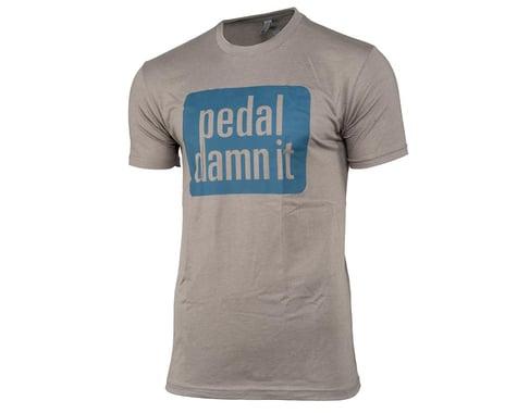 "Niner ""Pedal Damn It"" T-Shirt (Light Grey) (S)"