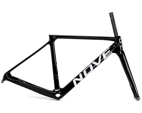 Nove Race Disc Frameset (Gloss Black/White Logo) (S)