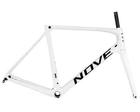 Nove Race Disc Frameset (Gloss White/Black Logo) (XL)
