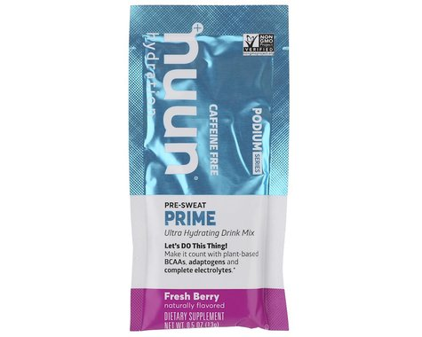 Nuun Podium Series Prime Pre-Workout Drink Mix (Fresh Berry) (12 | 0.5oz Packets)