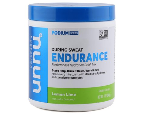 Nuun Podium Series Endurance Hydration Mix (Lemon Lime) (1 | 11oz Container)