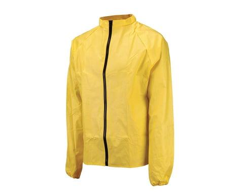 O2 Rainwear Cycling Rain Jacket (Yellow) (XL)