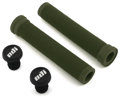 ODI Longneck SLX Grips (Army Green) (Pair)