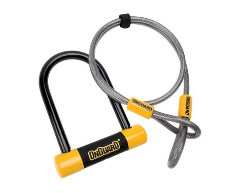 Onguard 8015 Bulldog Mini DT U-Lock with Cable