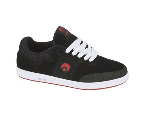 Osiris Sleak Shoes (Black/White/Red)