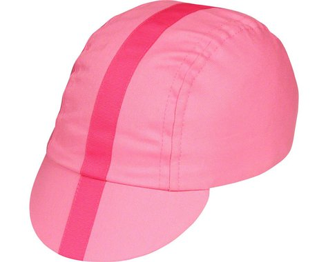 Pace Sportswear Classic Cycling Cap (Pink w/ Pink Tape) (S)