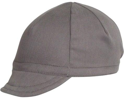 Pace Sportswear Euro Soft Bill Cycling Cap (Graphite) (M/L)