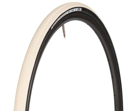Panaracer Gravelking Tubeless Slick Tread Gravel Tire (Ivory White/Black)
