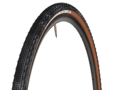 Panaracer Gravelking SK Tubeless Gravel Tire (Black/Brown) (700c) (32mm)