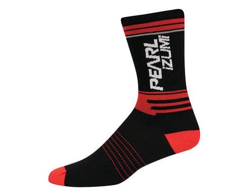 Pearl Izumi Elite LTD Tall Socks - Performance Exclusive (Black/Red)