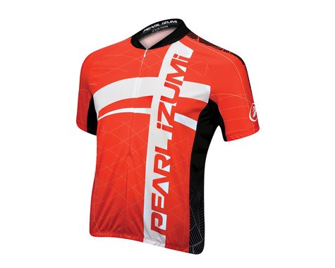 Pearl Izumi Select LTD Short Sleeve Jersey - Performance Exclusive (Black/Red)