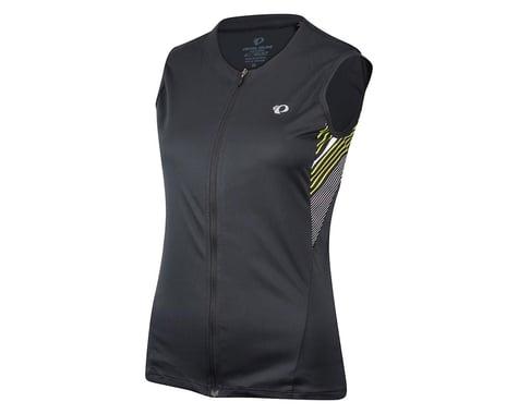 Pearl Izumi Women's Select Print Sleeveless Jersey (Black/Grey)
