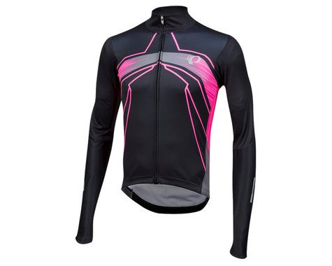Pearl Izumi Elite Pursuit Thermal Graphic Jersey (Vaporize Screaming Pink)