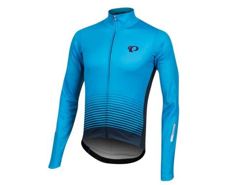 Pearl Izumi Elite Pursuit Thermal Graphic Jersey (Atomic Blue Diffuse)