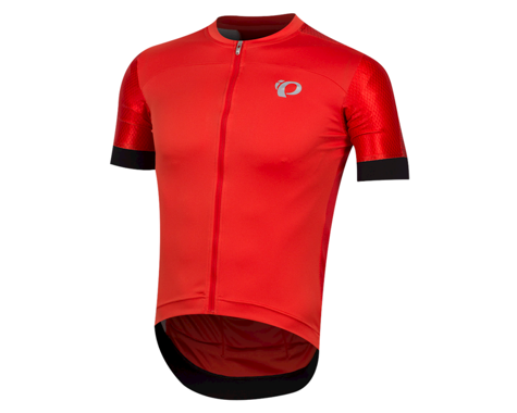 Pearl Izumi Elite Pursuit Graphic Short Sleeve Jersey (Torch Red Stripe)