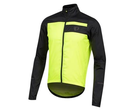 Pearl Izumi Elite Escape Barrier Jacket (Black/Screaming Yellow) (L)