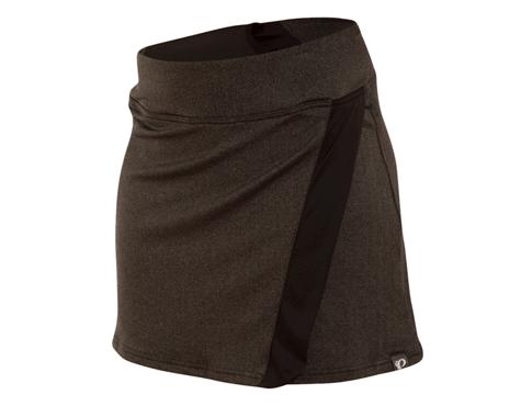 Pearl Izumi Women's Select Escape Cycling Skirt (Black/Herringbone)