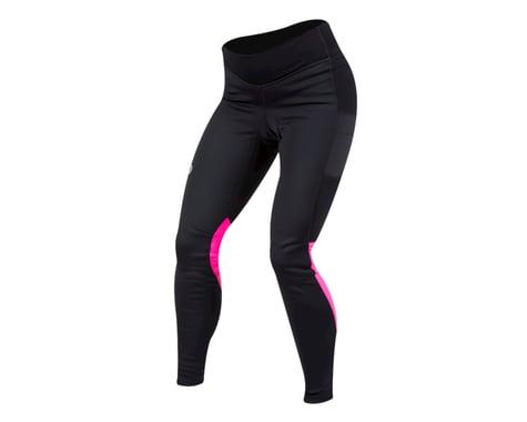 Pearl Izumi Women's Elite Escape AmFIB Cycle Tight (Black/Screaming Pink)