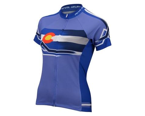 Pearl Izumi Women's Select Escape LTD Homestate Short Sleeve Jersey (Blue)