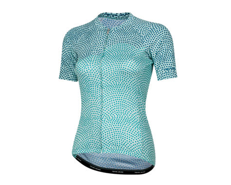Pearl Izumi Women's Elite Pursuit Short Sleeve Jersey (Glacier/Teal Kimono) (XL)