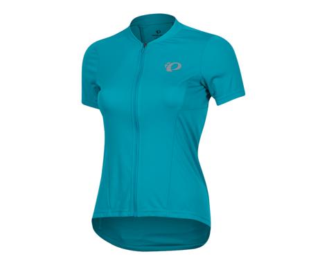 Pearl Izumi Women's Select Pursuit Short Sleeve Jersey (Breeze/Teal) (XS)