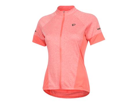 Pearl Izumi Women's Select Escape Short Sleeve Jersey (Sugar Coral/Peach)