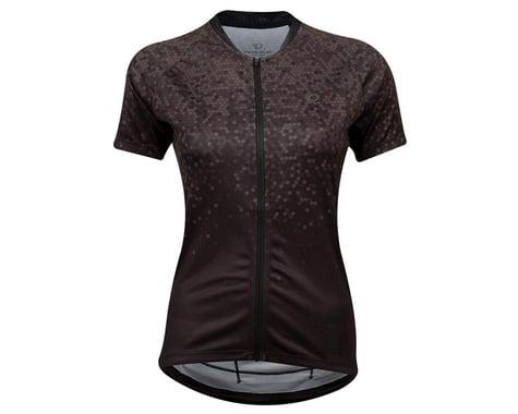 Pearl Izumi Women's Sugar Short Sleeve Jersey (Black/Phantom Hex) (M)