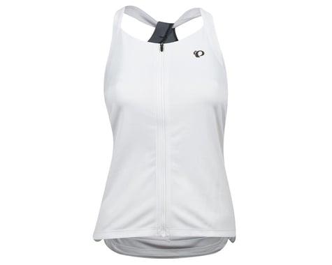 Pearl Izumi Women's Sugar Sleeveless Jersey (White/Turbulence)