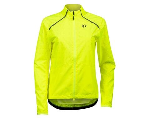 Pearl Izumi Women's Bioviz Barrier Jacket (Screaming Yellow/Reflective Deco) (XS)