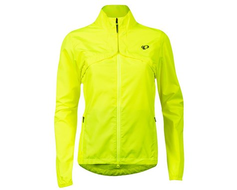 Pearl Izumi Women's Quest Barrier Convertible Jacket (Screaming Yellow/Turbulence) (S)