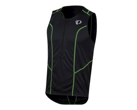 Pearl Izumi Select Pursuit Tri Jersey (Black/Screaming Green)