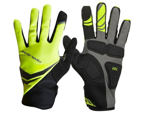 Pearl Izumi Cyclone Gel Full Finger Cycling Gloves (Screaming Yellow)
