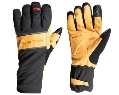 Pearl Izumi AmFIB Gel Gloves (Black/Dark Tan) (L)