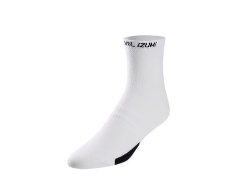 Pearl Izumi Elite Sock (White/Black)