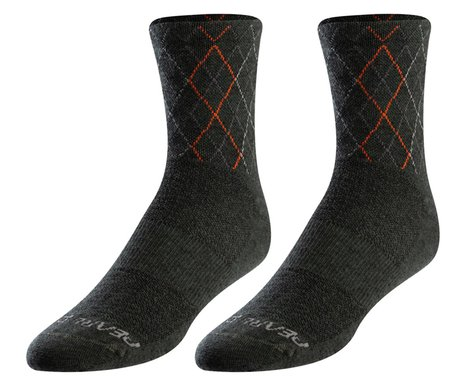 Pearl Izumi Merino Wool Socks (Forest/Flame Crossing) (M)