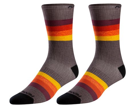 Pearl Izumi PRO Tall Socks (Lava Topo Aspect)