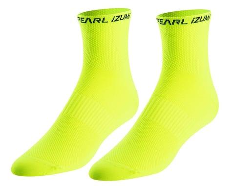 Pearl Izumi Elite Socks (Screaming Yellow) (M)