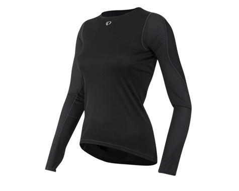 Pearl Izumi Women's Transfer Long Sleeve Base Layer (Black) (S)