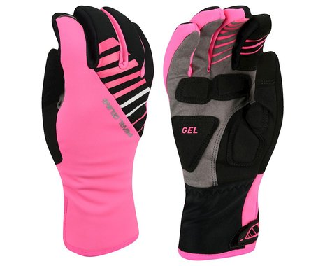 Pearl Izumi Women's Elite Softshell Gel Gloves (Pink)