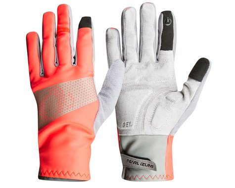Pearl Izumi Women's Cyclone Long Finger Gloves (Screaming Red) (S)