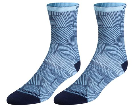 Pearl Izumi Women's PRO Tall Socks (Air/Navy Lucent)