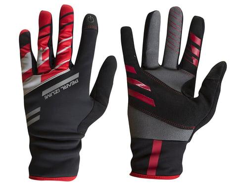 Pearl Izumi PRO Softshell Lite Gloves (Black/Red) (2XL)