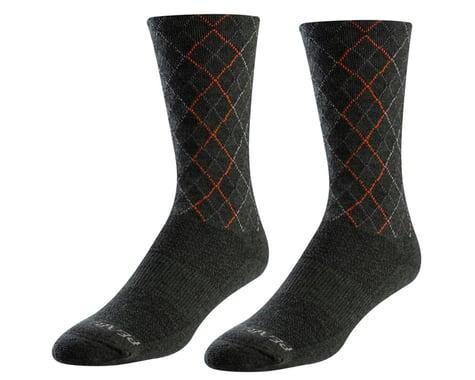 Pearl Izumi Merino Thermal Wool Socks (Forest/Flame Crossing)