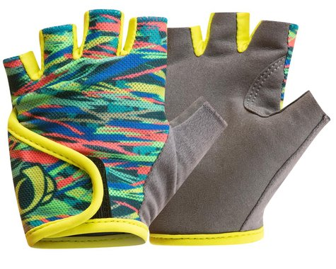Pearl Izumi Kids Select Gloves (Bio Lime Ripper) (Youth M)