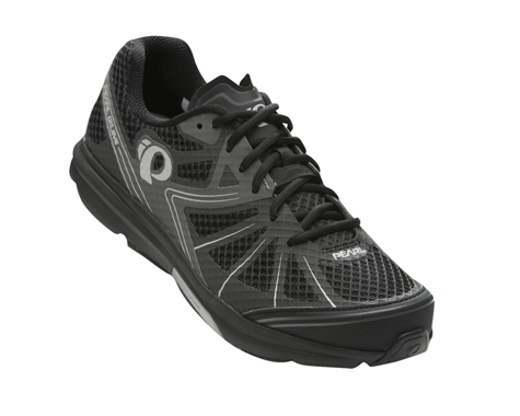 Pearl Izumi X-Road Fuel IV Mountain Shoes (Black/Shadow Gray) (43)