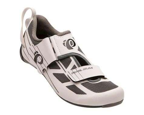 Pearl Izumi Women's Tri Fly Select v6 Tri Shoes (White/Shadow Grey) (36)