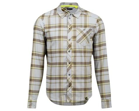 Pearl Izumi Rove Long Sleeve Shirt (Dark Olive/Fog Plaid) (S)