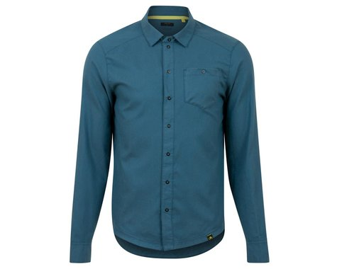 Pearl Izumi Rove Long Sleeve Shirt (Twilight/Spruce Weave) (S)